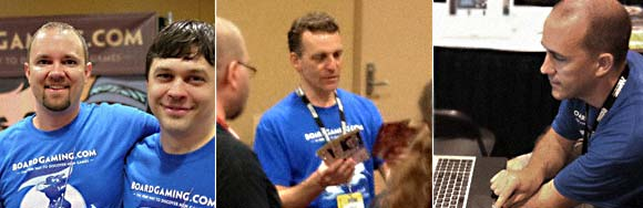 BoardGaming.com team at Gen Con 2012
