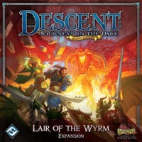 Descent: Journeys in the Dark (2ed) – Lair of the Wyrm - Board Game Box Shot