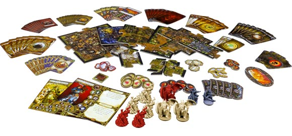 Descent Second Edition - Lair of the Wyrm expansion contents