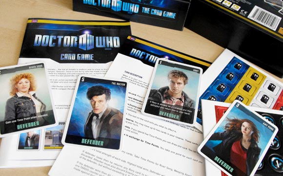 Doctor Who: The Card Game contents