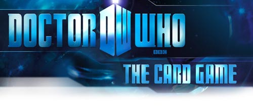 Doctor Who: The Card Game title
