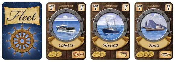 Fleet card game boat cards