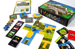 Komodo game in play