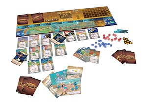 Legacy board game components
