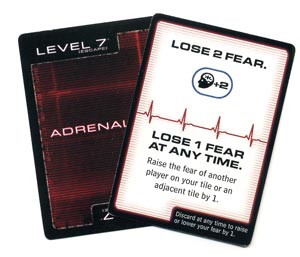 Level 7 adrenaline card
