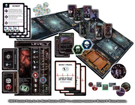Level 7 [Escape] game contents