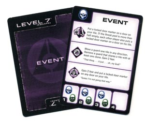 Level 7 event card