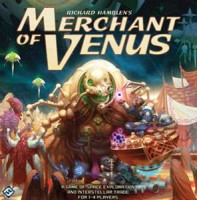 Merchant of Venus - Board Game Box Shot