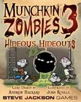 Munchkin Zombies 3: Hideous Hideouts - Board Game Box Shot