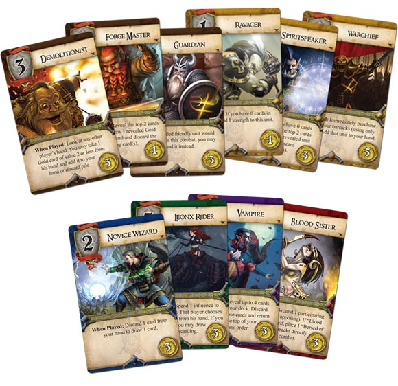 Rune Age: Oath and Anvil expansion cards