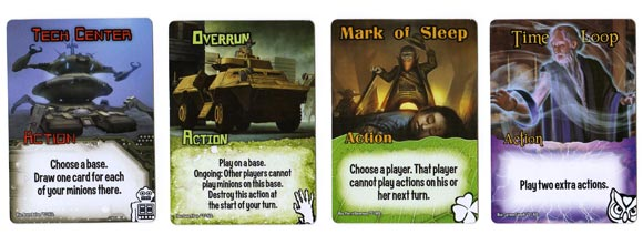 Smash Up action cards