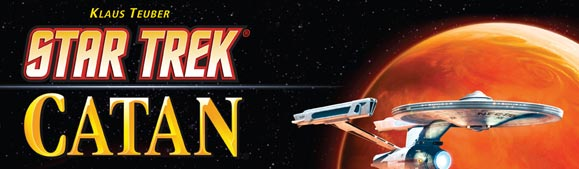 Star Trek: Catan the board game
