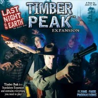 Last Night on Earth: Timber Peak - Board Game Box Shot
