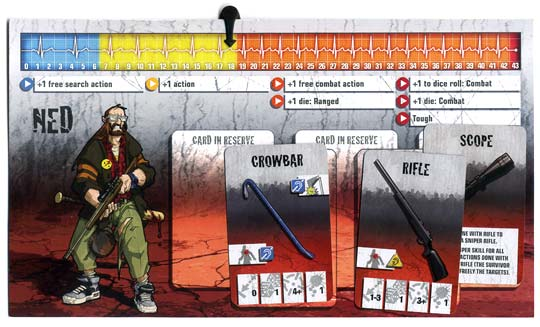 Zombicide character card