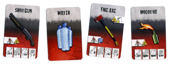 Zombicide item cards
