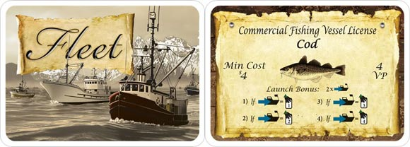 Fleet card game contract card