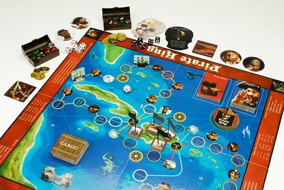 Pirate King Board Game