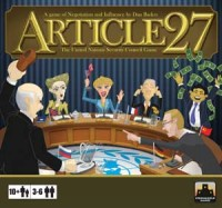 Article 27: The UN Security Council Game - Board Game Box Shot