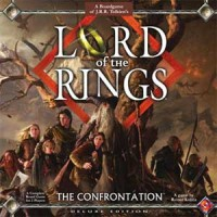 Lord of the Rings: The Confrontation – Deluxe Edition - Board Game Box Shot