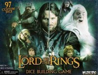 The Lord of the Rings: Dice Building Game - Board Game Box Shot