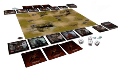 Mythic Battles game in play