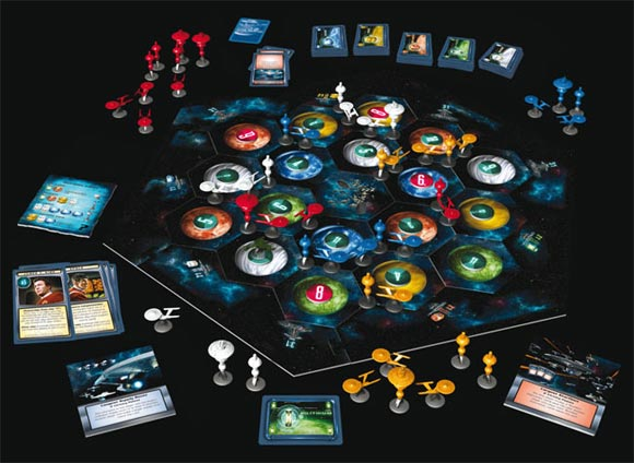 Star Trek: Catan board game contents