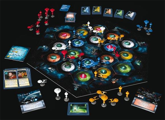 Star Trek: Catan board game contents