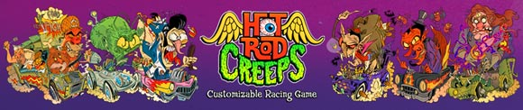 Hot Rod Creeps racing game