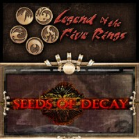 Legend of the Five Rings – Seeds of Decay - Board Game Box Shot
