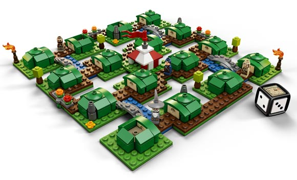 LEGO The Hobbit game built