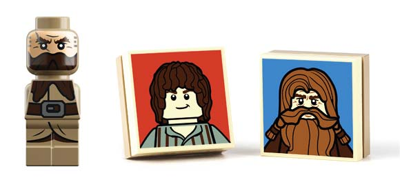 LEGO The Hobbit game pieces