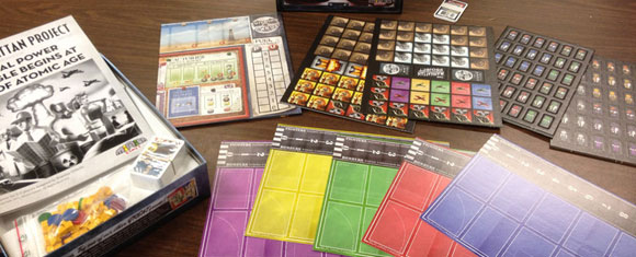 Manhattan Project game components