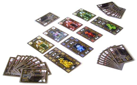 Crazy Creatures of Dr. Gloom game in play
