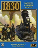 1830: Railways and Robber Barons - Board Game Box Shot