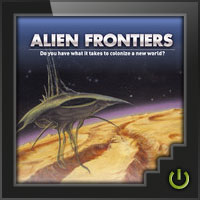Alien Frontiers - Board Game Box Shot