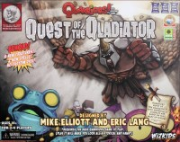 Quarriors! Quest of the Qladiator - Board Game Box Shot