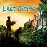 Lost Cities: The Board Game - Board Game Box Shot