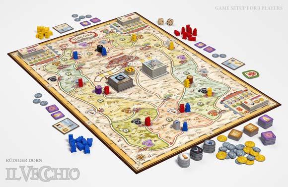 Il Vecchio game in play