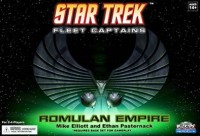 Star Trek: Fleet Captains – Romulan Empire - Board Game Box Shot
