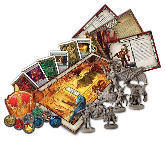 Talisman: The Dragon components