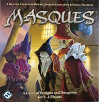 Masques - Board Game Box Shot
