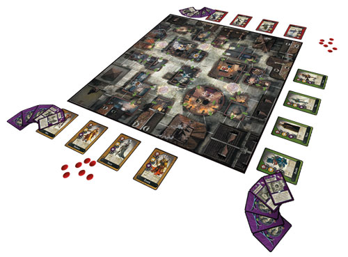 Cadwallon: City of Thieves game in play