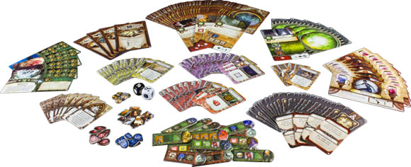Elder Sign: Unseen Forces components