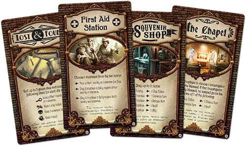 Elder Sign: Unseen Forces locations