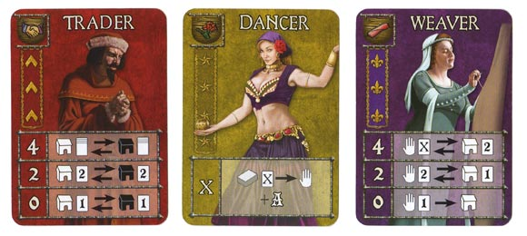 Guildhall profession cards 2