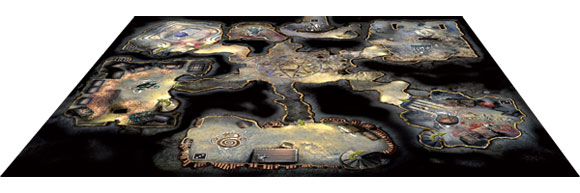 King of Ashes expansion board