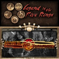 Legend of the Five Rings – Honor and Treachery - Board Game Box Shot
