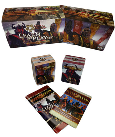 L5R: Honor and Treachery deckboxes and books