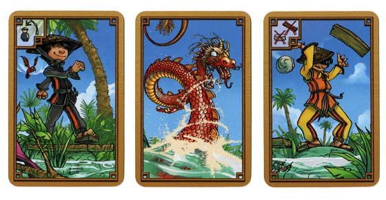 River Dragon action cards