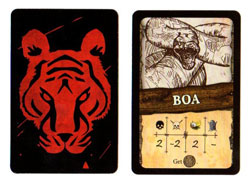 Robinson Crusoe animal card